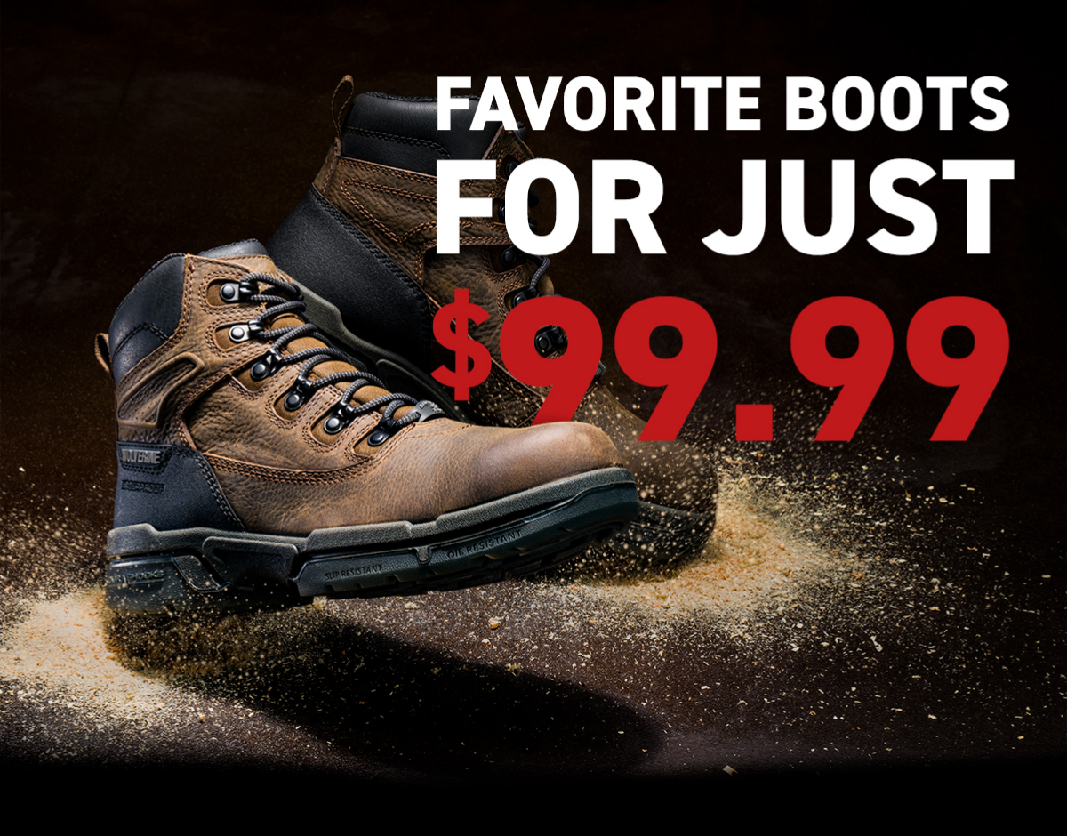 FAVORITE BOOTS FOR JUST $99.99