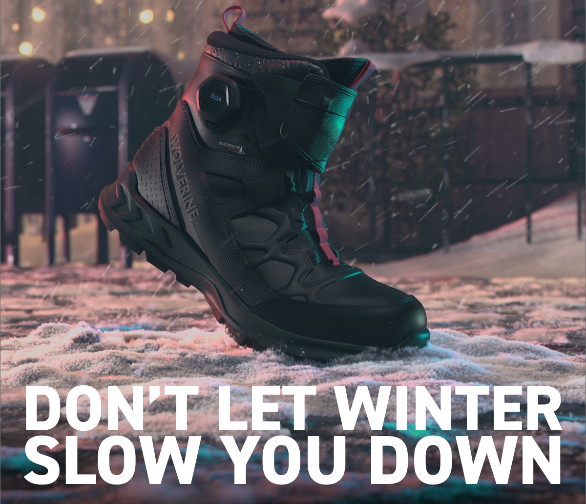 Don't Let Winter Slow You Down