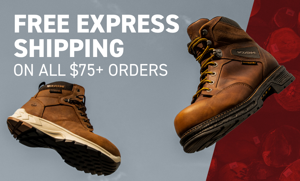 Free Express Shipping On All $75+ Orders